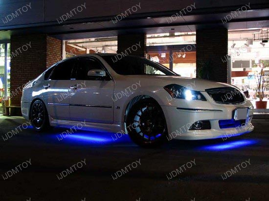 Infiniti - M35 - led - underbody - lights - 2